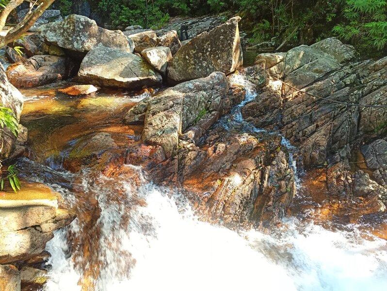 Cascades in Cloudy Creek.