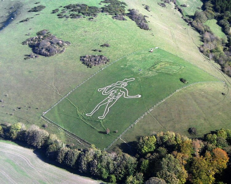 """The Cerne Abbas Giant"""" by Pete Harlow"""