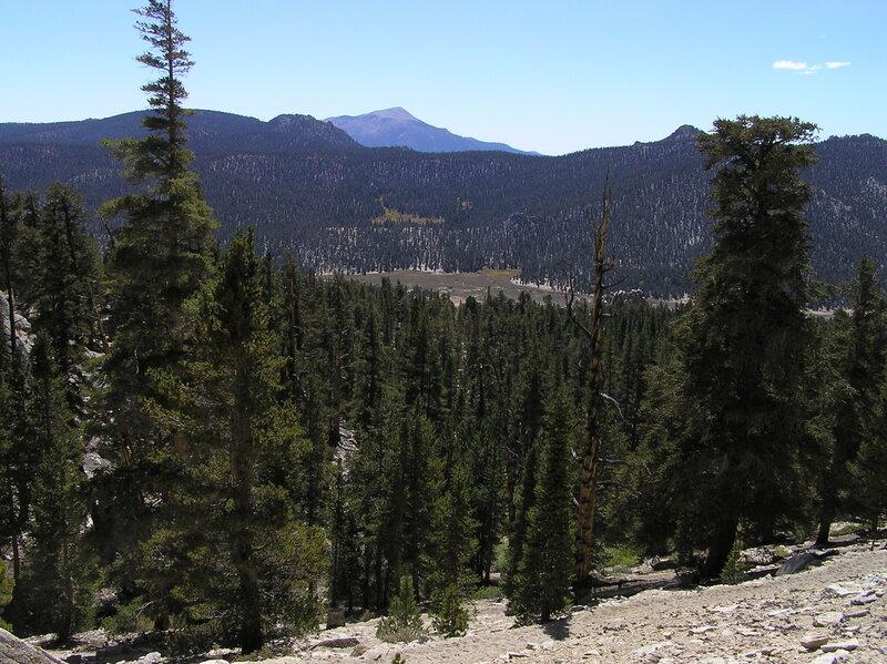 Olancha Peak from Trail Pass (9-24-2009)