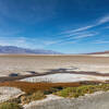 The little pools that gave Badwater its name.