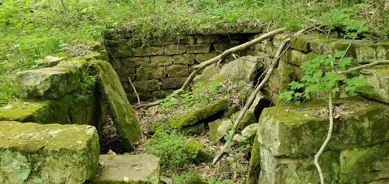 Old building foundation
