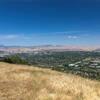 Pleasanton and Livermore from Ridgeline Trail.
