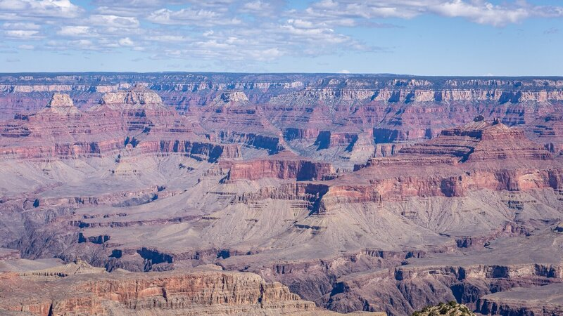 Grandview Point over the Grand Canyon.