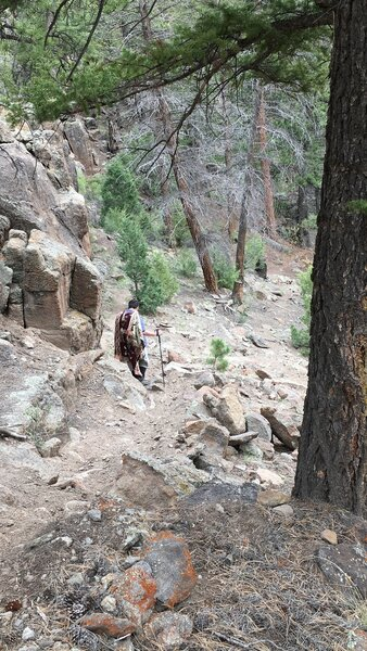 Palisade Trail, Southfork, Colorado