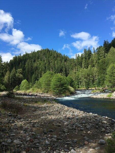 Middle Fork Willamette River.