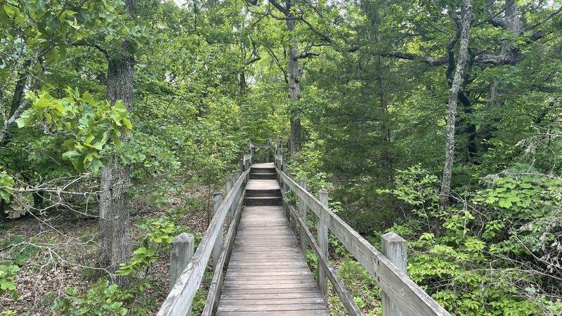 Beginning of trail.