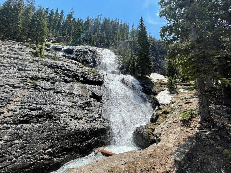 Waterfalls on Bridal Veil Trail