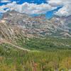 Tower Peak from Kirkwood Pass