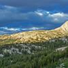 Hawksbeak Peak with Kirkwood Pass on the left.