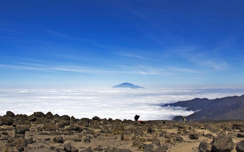 This is the kilimanjaro hiking using the lemosho  route; widely considered as the best route on the mountain, its beautiful terrain and scenery is just jaw dropping.