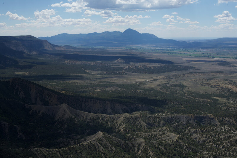 The new from the Point Lookout Trail once you get to the end. Its pretty amazing looking over the Montezuma Valley.
