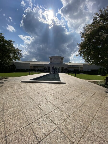 Entrance to the Jule Collins Smith Museum