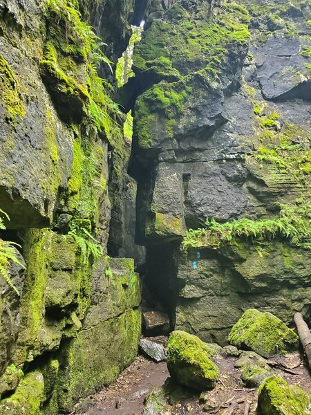 Interesting caves and rock formations.