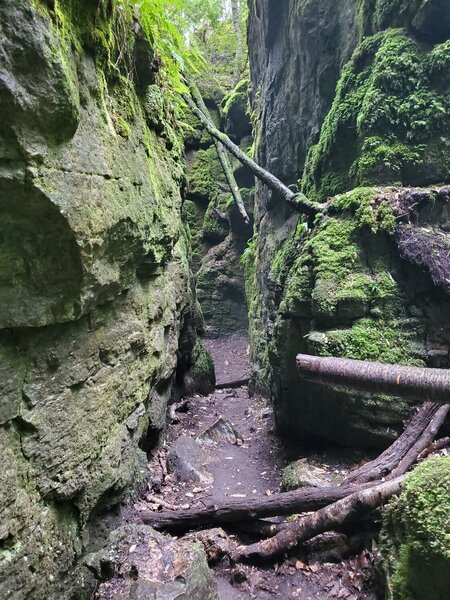 Standing Rock and Caves side trail.