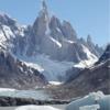 Glacier Torre - Chalten Argentina - Laguna Torre Trail.
