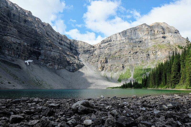 Bourgeau Lake.