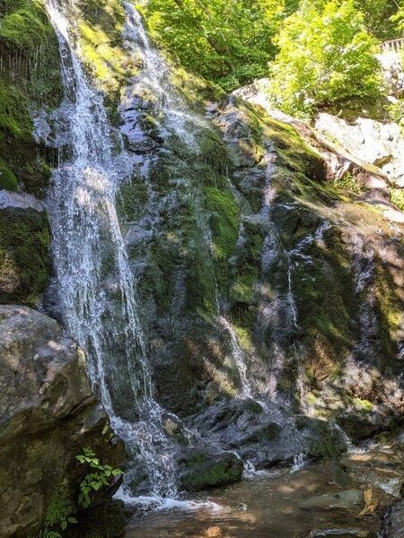 Dark Hollow Falls Upper Viewpoint.