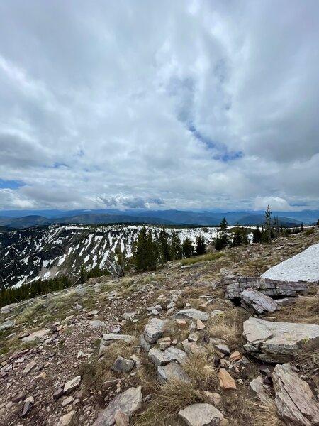 Top of Sheep Mountain.