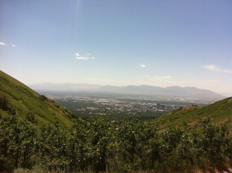 Overlook of Salt Lake City