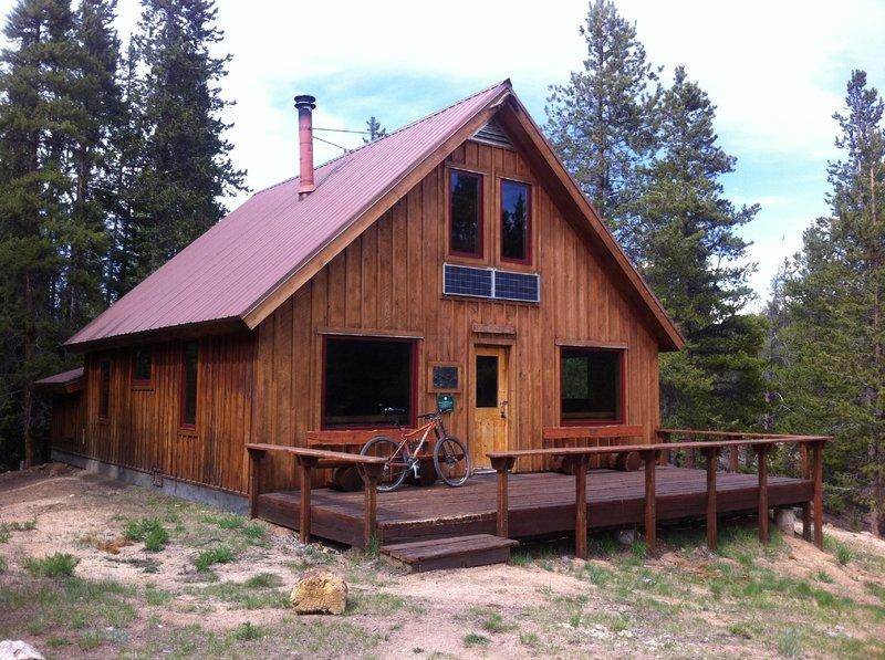 McNamara Hut. See www.huts.org for winter reservation info.