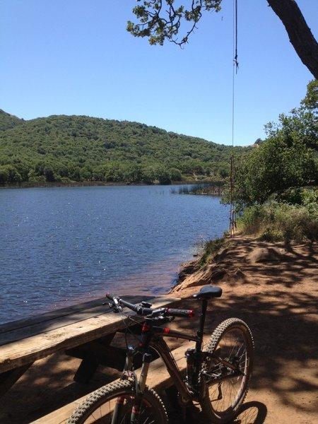 Peaceful Lake Ilsanjo