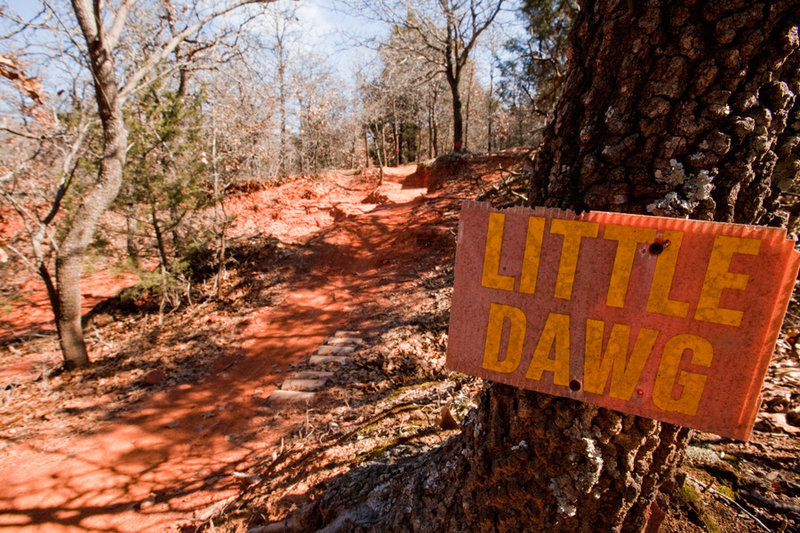 Little Dawg is just one g-out among many on the Red Loop