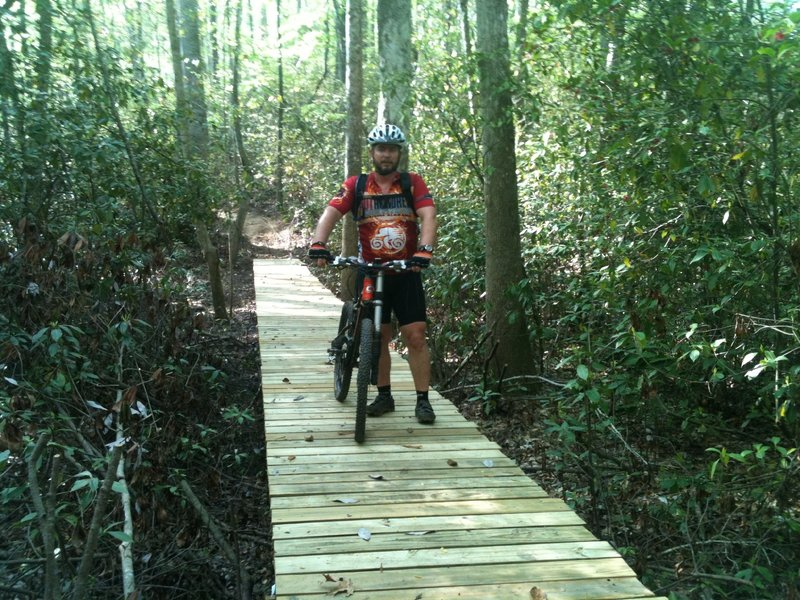 Ridge Trail bridge