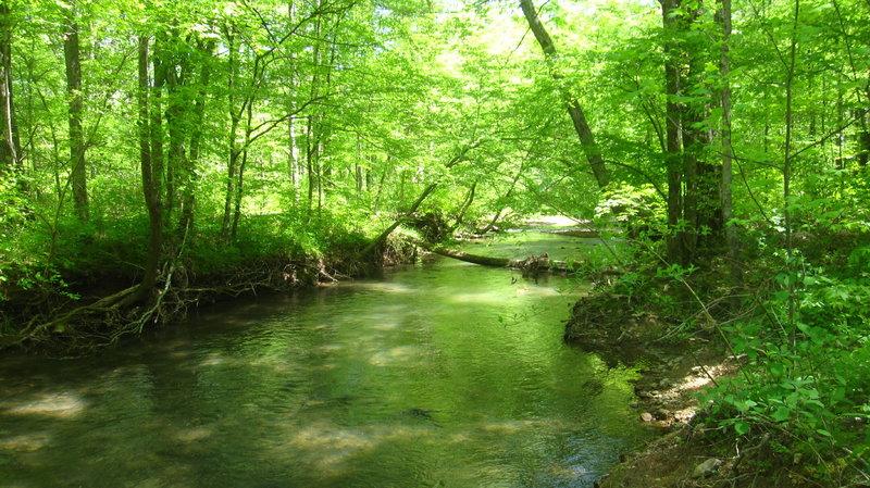 Crossing at East Armuchee Creek