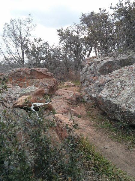 Lots of tech granite trails