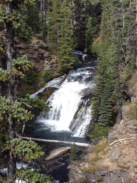 More falls along Tumalo Creek