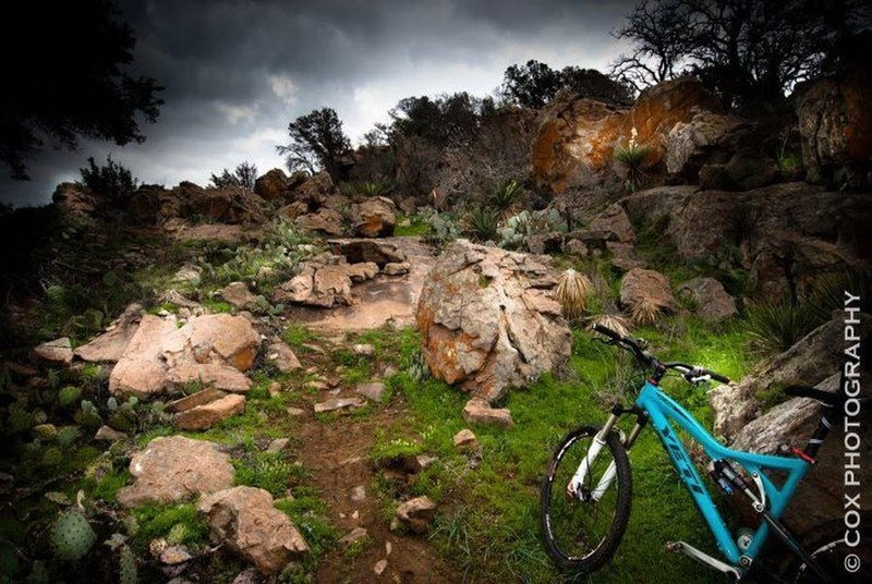 Beautiful granite shot by Cox Photography on a ride