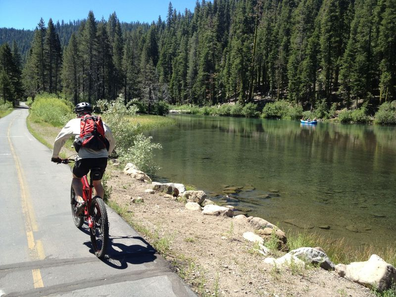 Along the Truckee River Bike Path
