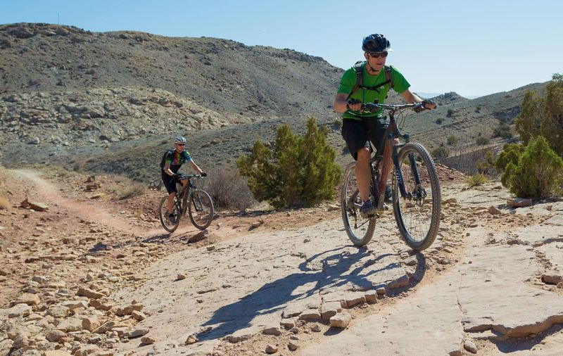 The initial climb up Mary's Loop can be a rude awakening.  Stick with it - it gets a lot better!