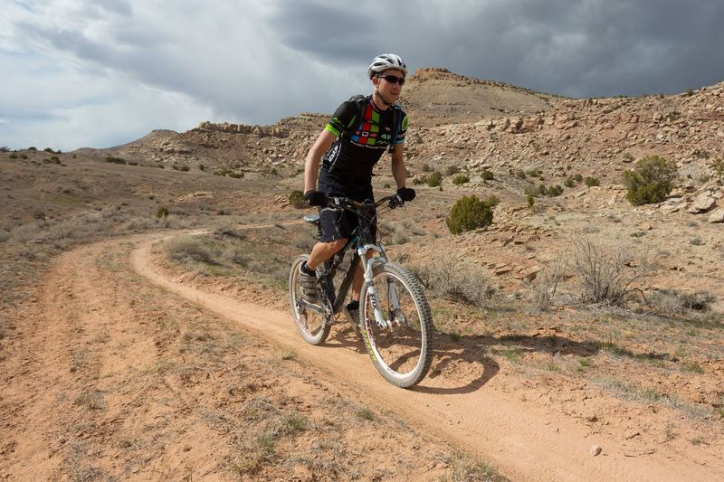 Wrangler's Loop might have once been a dirt road but now mostly rides like a singletrack.