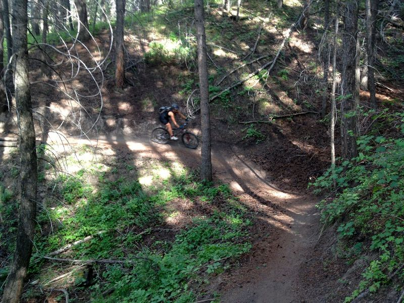 Fast and fun on Eagle Vail Trail