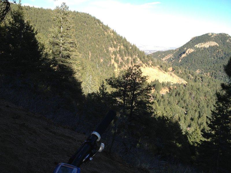 Halfway up Buckhorn