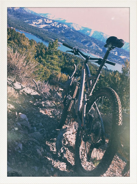 Near the summit on Cougar Crest trail - andy meadors.