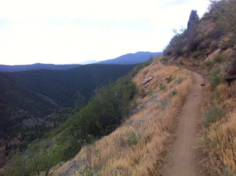 Nice smooth climb with great views!