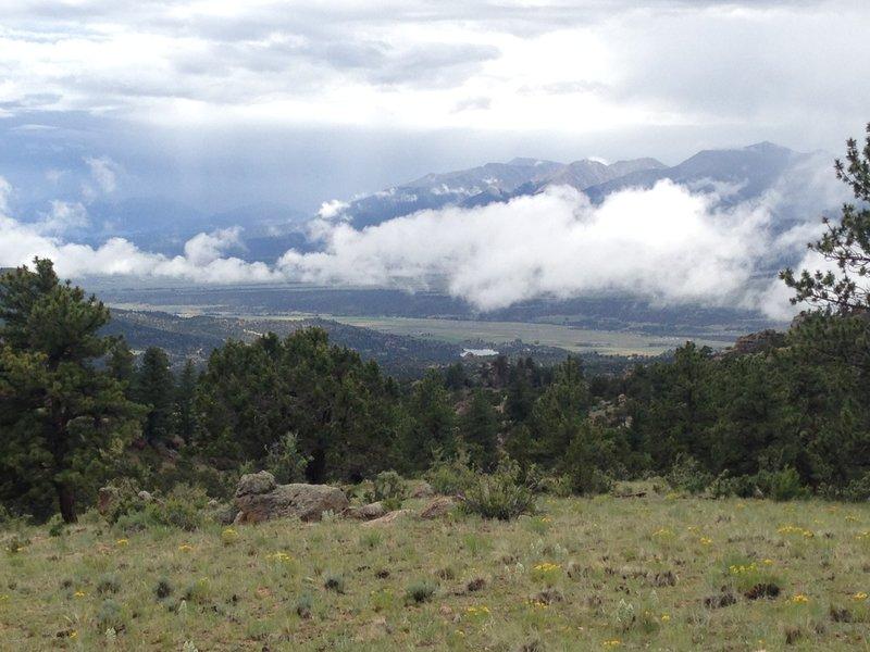 View of Mt. Antero & Mt. White
