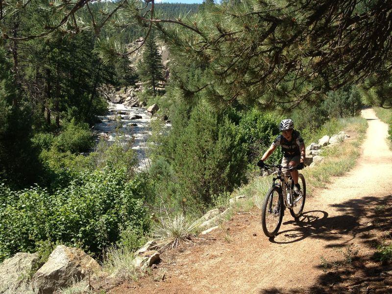 Cruising along South Boulder Creek