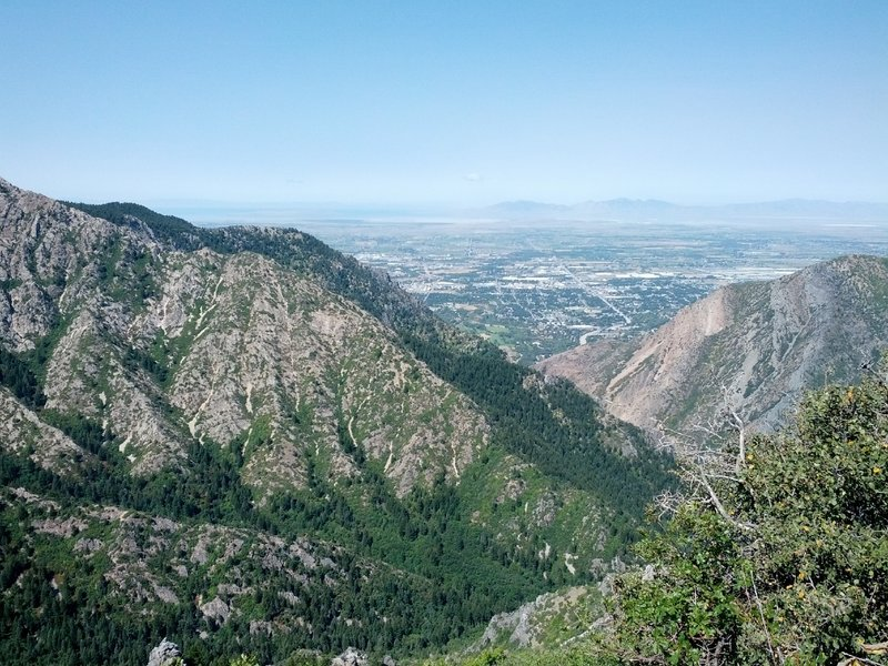 Ogden, from the Coldwater Canyon Overlook.