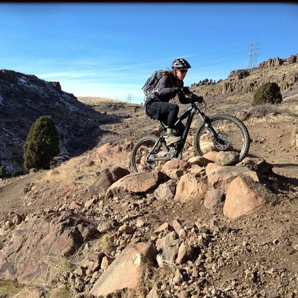 Cottonwood Canyon Trail Junction