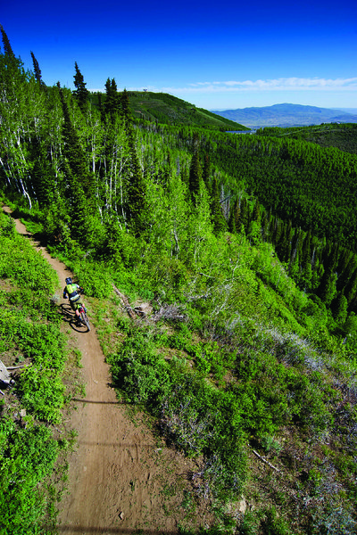 An epic trail with epic scenery.