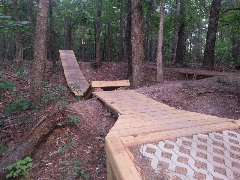 Beatty's Black Ski Jump Landing Pad