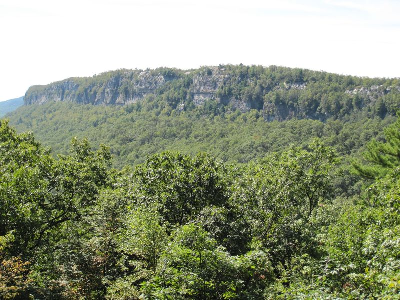 Looking south toward Minnewaska State Park