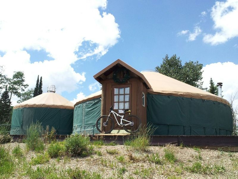 The Viking Yurt is open for winter use