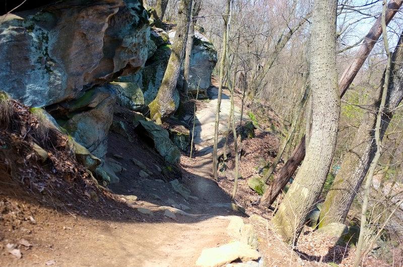 Buttermilk rock outcroppings