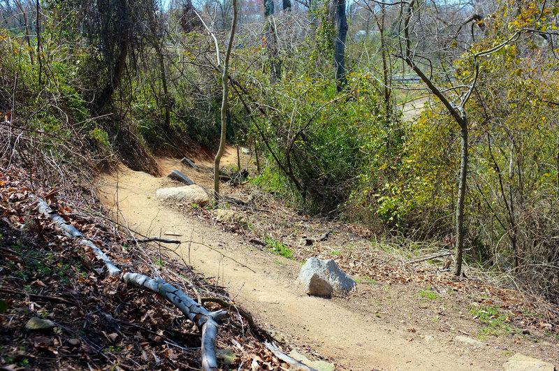 Buff side hill riding