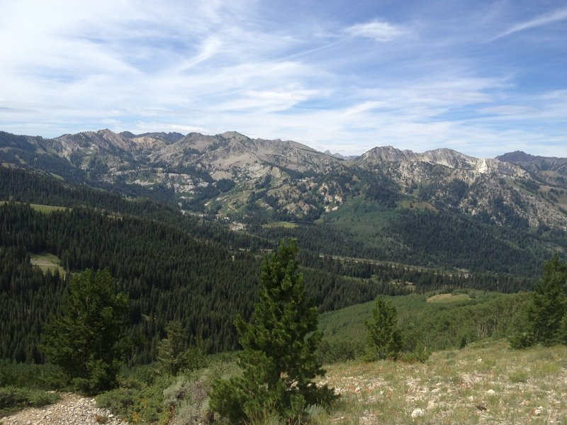 Views from the top of Puke Hill (Wasatch Crest)
