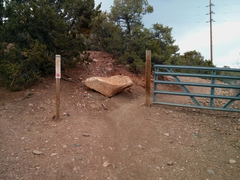 Trail Marker #27...  gotta hit the road for a bit.